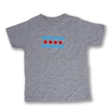 Chicago Doodle Flag - Toddler Tee