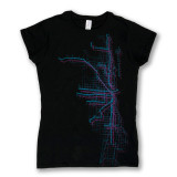 Chicago Metro Map Tee - Women's