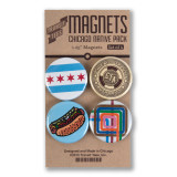 Chicago Native Round Magnet Pack