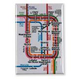 """Loop Map 3"""" x 2"""" Magnet"""