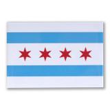 """Chicago Flag  3"""" x 2"""" Magnet"""