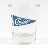 Chicago Pennant Shot Glass