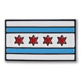 Chicago Flag Icon Enamel Pin