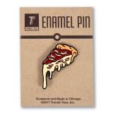 Deep Dish Pizza Icon Enamel Pin