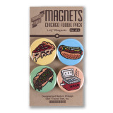 Chicago Foodie Round Magnet Pack