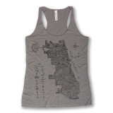 Neon Neighborhood Map Tank - Women's