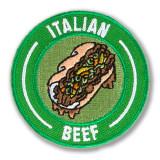 Italian Beef Survivor Patch