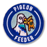 Pigeon Feeder Survivor Patch