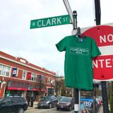 Chicago Ave Street Sign Tee - Men's