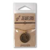 Chicago CTA Token Necklace