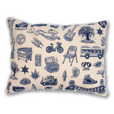 Chicago Icons Pillow
