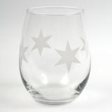 Chicago Stars Wine Glass