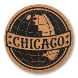 Chicago Globe Coaster