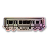 El Train Holographic Sticker