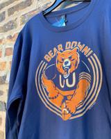 Bear Down Long Sleeve Tee Shirt - Unisex