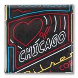 Heart of Chicago Neighborhood Magnet
