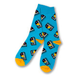 CTA Card Pattern Dress Socks