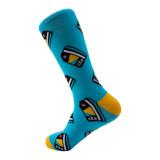 CTA Card Pattern Dress Socks