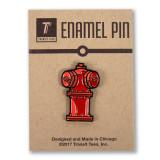 Chicago Fire Hydrant Enamel Pin