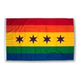 Chicago Pride Flag 5' x 3'