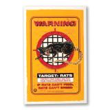 Target Rat Screen Print