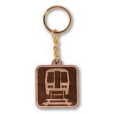 El Icon Wooden Keychain