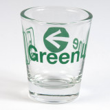 Green Line Shot Glass