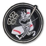Go Go Baseball Iron On Patch