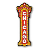Chicago Theater Sign Enamel Pin
