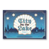 City By The Lake Postcard