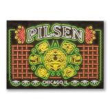Pilsen Neighborhood Postcard