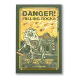 Danger! Falling Rocks Postcard
