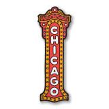 Chicago Theater Sign Sticker