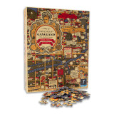 Chicago Gangland Map 1000 Piece Puzzle