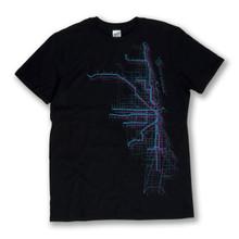 Chicago Metro Map Tee - Men's