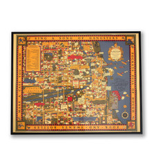 Chicago's Gangland Map Poster