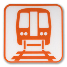 Chicago 'L' Icon Sticker