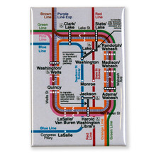 "Loop Map 3"" x 2"" Magnet"