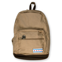 Chicago Flag Patch Backpack