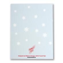 Transit Tree Holiday Greeting Card