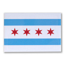 "Chicago Flag  3"" x 2"" Magnet"