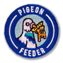 Pigeon Feeder Survivor Patch
