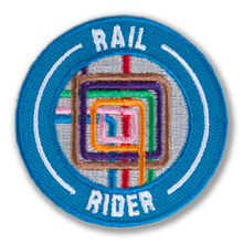 Rail Rider Survivor Patch