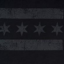 Greyscale Chicago Flag Tee - Men's