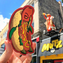Killer Chicago Style Hot Dog Sticker