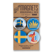 Andersonville Round Magnet Pack