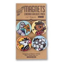 Chicago Wildlife Round Magnet Pack