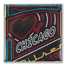 Heart of Chicago Neighborhood Magnet