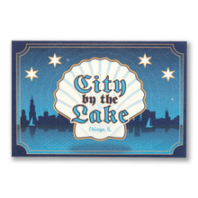 City By The Lake Postcard