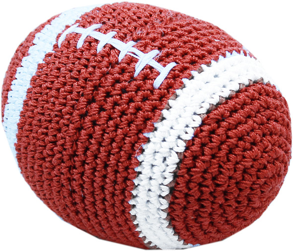 knit knacks organic football toy